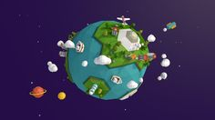 A Beautiful Blue Planet (푸른별, 지구) Client : Goyang Children's Museum Agency…
