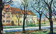 Debreceni utca (Nana83) - Meska.hu Utca, Merida, Mansions, House Styles, Painting, Decor, Art, Mansion Houses, Dekoration