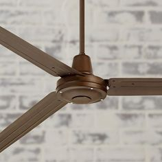 "72"" Turbina XL Oil-Rubbed Bronze Ceiling Fan - #7C878-7C931 | Lamps Plus"
