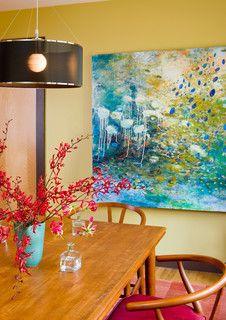 Dining Room - modern - dining room - boston - by Kristen Rivoli Interior Design