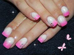 Pink fade by winternikki - Nail Art Gallery nailartgallery.nailsmag.com by Nails Magazine www.nailsmag.com #nailart