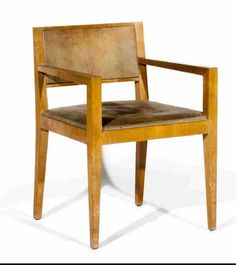 Eyre de Lanux , Armchair . E . Eyre de Lanux . Armchair , circa 1930. 15 000 € . A similar one in an interior created by Eyre de Lanux for the art critic Jan Heyliger.