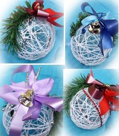 Homemade Christmas, Simple Christmas, Christmas Holidays, Christmas Wreaths, Christmas Ornaments, Dyi Crafts, Crafts To Do, Christmas Messages, Christmas Wishes