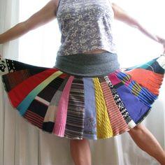 CUSTOM Sweater Skirt