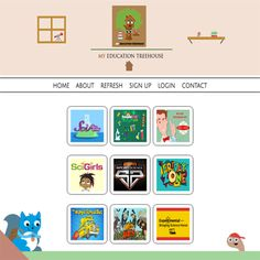Watch Fun Educational Tv Shows and Learning Videos on a Kid-Safe platform for learning. Learning Resources, Fun Learning, Elementary Teacher, Elementary Schools, Educational Websites, Tv Channels, Great Tv Shows, Teaching Science, Treehouse