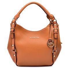 Michael Kors Bedford Large Brown Shoulder Bags