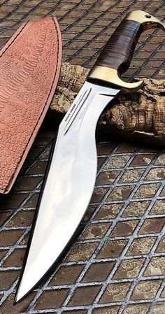 Down Under Knives Red Rock Raptor Knife Fixed Blade