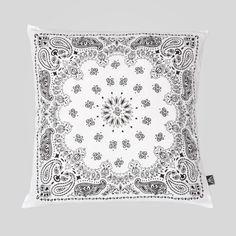 upper-playground - Bandana Pillow in White