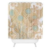Found it at Wayfair - Cori Dantini Woven Polyester Floral Extra Long Shower Curtain