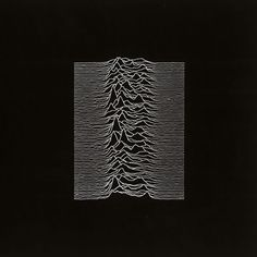 "Joy Division ""Unknown Pleasures"" Album Cover Designed By Peter Saville Iconic Album Covers, Cool Album Covers, Album Cover Design, Music Album Covers, Box Covers, Peter Saville, Joy Division, Cover Art, Cd Cover"