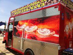 Houston Food Truck Reviews: Churrasco Truck - Parmesan Pork Sandwich