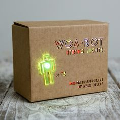 WoA-Bot string lights by Wall of Art #Studio18 #ChristmasMADE sparkly at #Manchester Craft & Design Centre