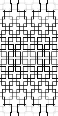 Repeating monochrome square pattern design