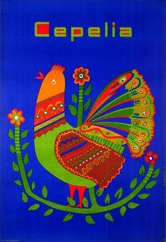 Cepelia (Art And Handicraft Foundation) Cepelia Zawadzki R. Polish Poster