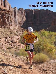 Moab Trail Marathon. My favorite!!  It's a love hate thing.