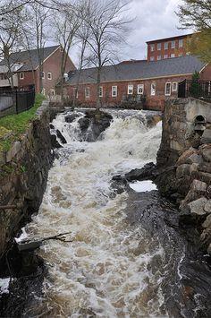 Downtown Amesbury, Massachusetts