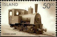 Sello: Steamlocomotive (Islandia) (Vehicles) Mi:IS 910 D,Sn:IS 878,AFA:IS 895Cn