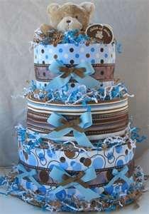 diaper cake boy
