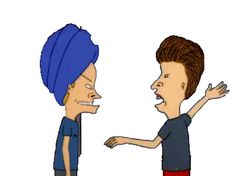 Butthead Bitch Slaps Beavis