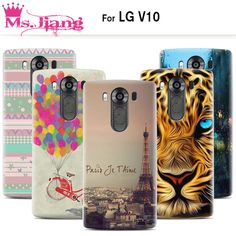 2015 New Fashion Arrival Case For LG V10 Back Cover Hard Plastic Case For V10 LG Cartoon personality Cases