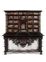 MONETIERE, NAPOLI, SECONDA METÀ SECOLO XVII  -   - in legno intagliato, [...], Masterpieces from Italian Collections (Firenze) à Pandolfini Casa d'Aste
