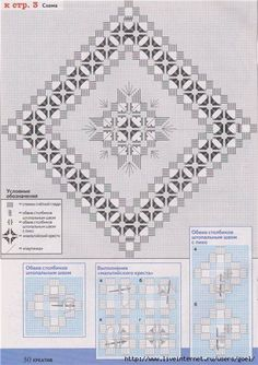 """Photo from album """"диана креатив"""" on Yandex. Types Of Embroidery, Learn Embroidery, Hand Embroidery Stitches, Embroidery Techniques, Embroidery Patterns, Cross Stitch Patterns, Cross Stitch Pillow, Drawn Thread, Hardanger Embroidery"""