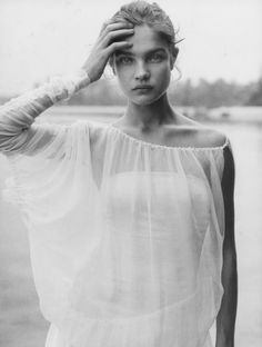 natalia vodianova by peter lindbergh