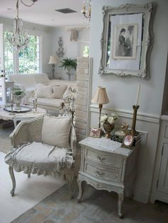 ❥ white via fullbloomcottage.blogspot.it