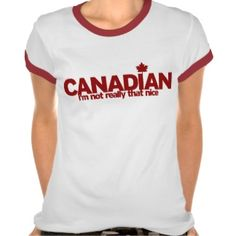 Very Funny Happy Canada Day T-Shirt | Canada, Funny and Happy ...