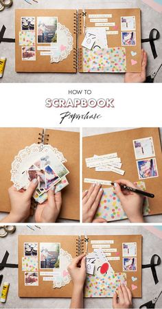 FANCY SALE: Follow us and repin and win Looking for birthday present ideas? Why not create a scrapbook filled with all of your best memories together? We love this scrapbooking layout, mainly for the super clever pocket, to pop present tags and tickets into. Cute. Or perhaps get creative with some washi tape DIY? For us, it's all about the embellishments, (Click on photo to see more ...)