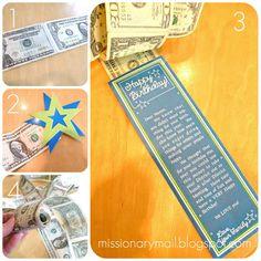 Missionary Mail: Birthday