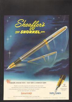Sheaffer's Snorkel