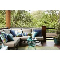 Shop Garden Treasures Palm City Sectional Sofa At Loweu0027s Canada. Find Our  Selection Of Outdoor Conversation Sets At The Lowest Price Guaranteed With  Price ...