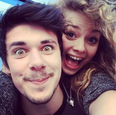 Carrie Hope Fletcher and Pete Bucknall aka Rapunzel and Flynn Carrie Hope Fletcher, Jim Chapman, Rapunzel And Flynn, Tanya Burr, Marcus Butler, London Theatre, Joe Sugg, Disney Fanatic, Phil Lester