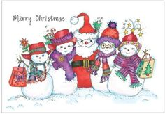 Red Hats By You: Merry Christmas Red Hat Christmas Cards Set of 10