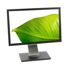 Dell Black 20 WideScreen Screen 1600 x 900 Resolution Refurbished LCD Flat Panel Monitor ** Visit the image link more details. Monitor Speakers, Lcd Monitor, Latest Computer Technology, Dell Store, Monitor For Photo Editing, Computer Equipment, Monitor Lizard, Mac Mini, Security Camera