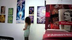 Artista Corina la galeria T Drumul Taberei
