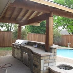 wooden awnings | Wood Awning Cover For Modular Home Decors With Cherry Red Log Wood ...