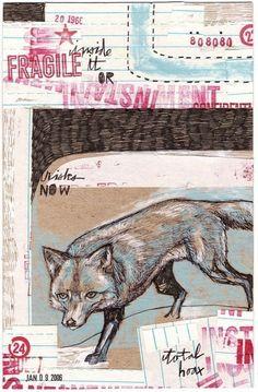 3LEGGED FOX print by MATTYCIPOV on Etsy, $10.00