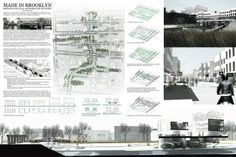 Gowanus Connections is an international ideas competition hosted by Gowanus by Design, inviting speculation on the value of urban development of. Presentation Example, Presentation Board Design, Architecture Presentation Board, Portfolio Presentation, Architecture Panel, Urban Architecture, Concept Board Architecture, Eco Buildings, Urban Analysis