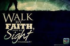 How to Walk by Faith not by Sight means living life in light of eternal consequences. To walk by faith is to fear God more than man; to obey the Bible Bible Verses About Faith, Bible Scriptures, Walk By Faith, Faith In God, Strong Faith, Biblical Quotes, Bible Quotes, Qoutes, Religious Sayings
