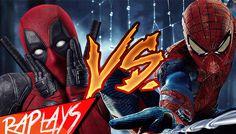 spiderman vs deadpool death battle screwattack actions video for kids Dead Pool, Spiderman, Cobie Smulders, Jeff The Killer, Jake Gyllenhaal, Home Movies, Cartoon Kids, Call Of Duty, Hd 1080p