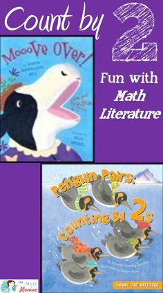 Come check out some of my favorite books for counting by 2 and watch a fun You Tube video all about skip counting.