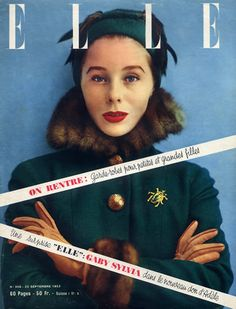 Schiaparelli 1952  Bettina as Model, Photographer Chevalier (Bettina was one of my best friends in the world growing up and I'm still friends with Chevalier's son, Remy)