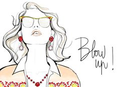 Garance and her hair ...sheesh, we always want what we don't have. Great post though and beautiful illustration!