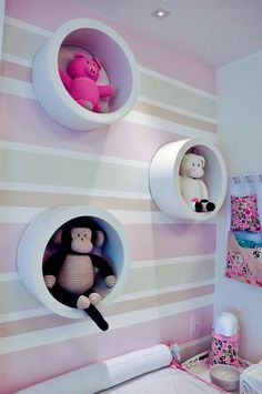 60 most beautiful and inspiring baby room niches – New decoration styles – Kids Room 2020 Baby Bedroom, Baby Room Decor, Nursery Room, Girl Nursery, Girls Bedroom, Nursery Decor, Bedroom Decor, Princess Room, Little Girl Rooms