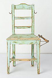 Guide Rail Altered Ego Chair, 2010    This looks like a painting and amazingly it's not.