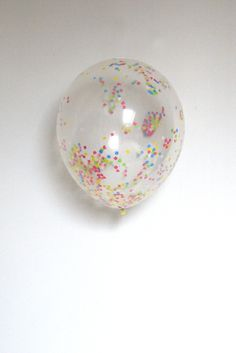 A lovely little company confetti balloons