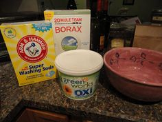 DIY Laundry Detergent (Cloth Diaper Friendly) - Do-It-Yourself Danielle