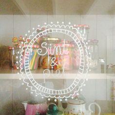 Sinterklaas window painting •Marije Zijderlaan-Daanen                                                                                                                                                                                 More